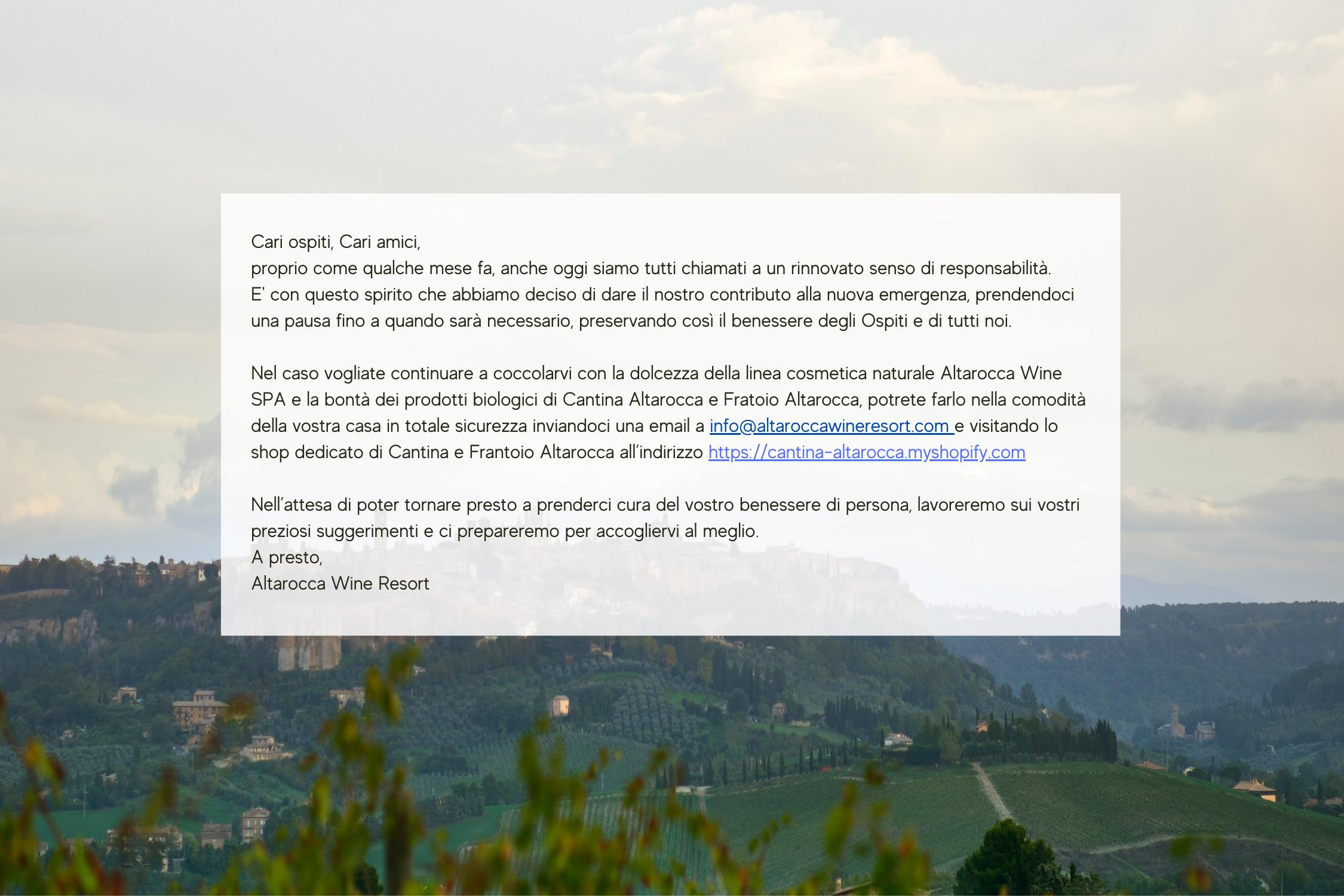 banner sito chiusura covid ottobre 2